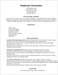 resume order  resumeresume