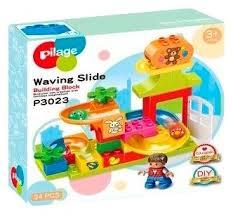 Динамический <b>конструктор Pilage</b> Waving Slide P3023 <b>Детские</b> ...