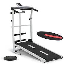 YP Folding Portable Multifunctional Manual Treadmill <b>Fitness</b> ...