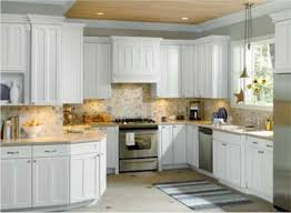 astounding home interior decorating kitchen ideas with captivating white wooden cabinetry and attrative tile backsplash plus astounding home interior modern kitchen