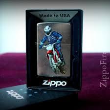 Zippo <b>207 Dirt bike 2</b> Street Chrome, <b>Зажигалка Зиппо</b> с ...