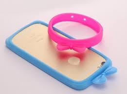 Универсальный <b>силиконовый бампер</b>-браслет для телефона 3,0 ...