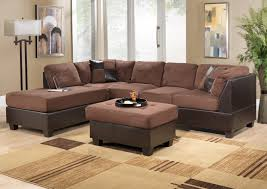 cozy living rooms living room lovely beige sectional sofa and puff table over beige beige sectional living room