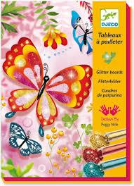 <b>Djeco Раскраска Блестящие бабочки</b> — купить в интернет ...