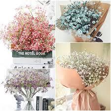 Artificial Fake Flower Babys <b>Breath</b> Gypsophila Silk Flowers ...