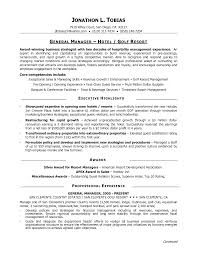 hotel manager resume  hotel general manager resume sample  hotel    hotel manager resume