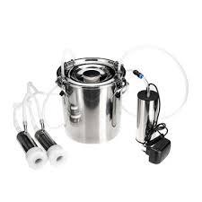 5l electric cow goat <b>sheep</b> milking machine vacuum pump milker ...