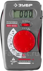 <b>Мультиметр ЗУБР</b> Мастер <b>МХ</b>-<b>600 цифровой</b> - Инструменты и ...