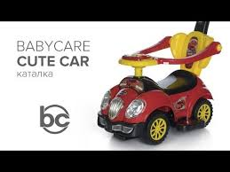 <b>Каталка</b> детская <b>Baby Care Cute</b> Car (музыкальный руль ...