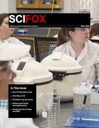 school of science marist college scifox