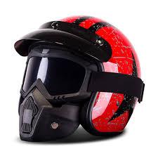 <b>Motorcycle</b> Retro Harley <b>Helmet</b> Chopper Vintage <b>Casco Moto</b> ...