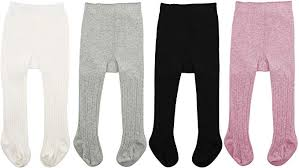 Zando <b>Infant</b> Soft <b>Tights Toddler</b> Seamless <b>Leggings Tights</b> for <b>Baby</b>