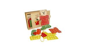 <b>Деревянная игрушка QiQu Wooden</b> Toy Factory Шнуровка ...