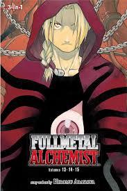 fullmetal alchemist vol fullmetal alchemist in  fullmetal alchemist vol 13 15 fullmetal alchemist 3 in 1 hiromu arakawa 9781421554921 com books