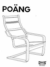 ikea poang chair assembly instructions assembling ikea chair