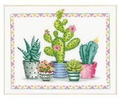 <b>Vervaco Набор для вышивания</b> Уголок с растениями 36 х 30 см ...