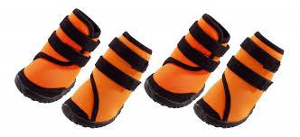 Купить <b>обувь</b> для собак <b>Ferplast</b> размер M, 4 шт оранжевый ...