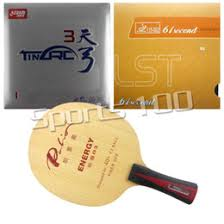pro combo racket palio energy 06 with ak47 red and blue long