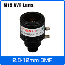 5 pieces 12mm cctv camera lens m12 metal fixed iris for security cameras ip ahd tvi cvi camera