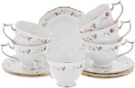 """<b>Набор чайный Elan Gallery</b> """"Нежные розы"""", 12 предметов ..."""