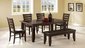 Tufted Dining Room Sets Rectangular Kitchen Table Sets Espresso Dining Table Espresso