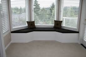 home decor large size furniture decoration serene bay window seats with white color but black bay window furniture