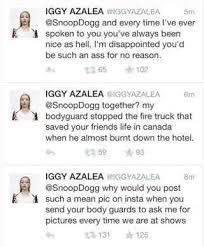 Watch Snoop Dogg Issue Apologies To Iggy Azalea For Mean Comments ... via Relatably.com