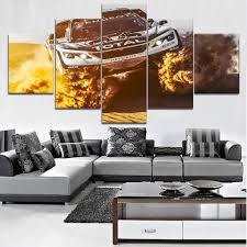 Modern HD Printed Wall Artwork Canvas <b>Modular Pictures 5 Pieces</b> ...