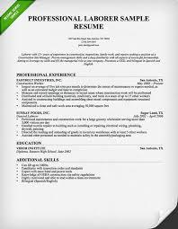 construction worker resume sample   resume geniusconsruction laborer resume professional