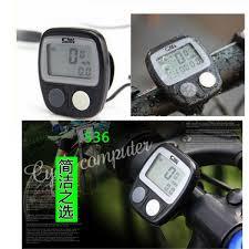 <b>Waterproof Digital LCD</b> Computer Cycle Bicycle Bike Speedometer ...