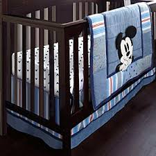 mickey mouse crib bedding set for baby personalizable baby mickey crib set design