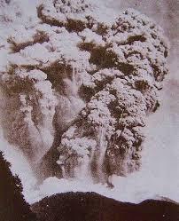 「1915年 - 焼岳噴火大正池画像」の画像検索結果