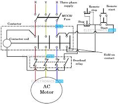 direct online starter dol starter dol starter wiring diagram