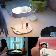 multifunctional table lamp desktop led mirror light swivel cosmetic makeup lamp lady beauty facial lighting bathroom bathroom makeup lighting