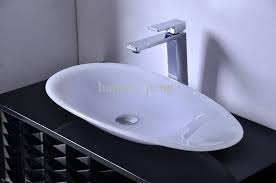 bathroom countertop basins wholesale: mmmmmm cupc certificate bathroom resin oval counter top sink colourful cloakroom wash basin solid surface stone vessel rs counter top basins