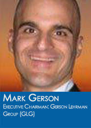 Mark Gerson is the Executive Chairman of Gerson Lehrman Group (GLG), which he co-founded in 1998. Mark is the author several books and essays in newspapers ... - gerson_mark