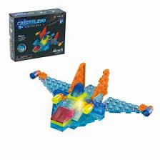 <b>Светящийся конструктор Crystaland</b> «Космический истребитель ...