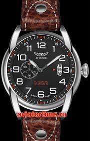 Швейцарские наручные мужские <b>часы AVIATOR V</b>.<b>3.18.0.100.4</b> ...