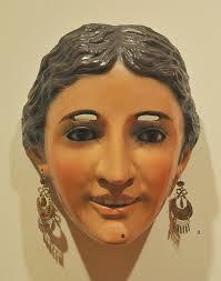 <b>Mexican Mask</b> of a Woman | <b>Mexican mask</b>, Masks art, Paper mache ...