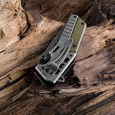 Grand Way <b>Folding Pocket Knife</b> - <b>Tactical</b> EDC Knife - USMC ...