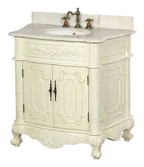 traditional style antique white bathroom: image of antique bathroom vanity picture gallery