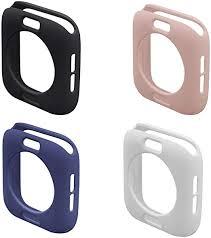 4pcs 40mm <b>Candy Color Silicone</b> Soft Shell <b>TPU</b> Protective Bumper ...