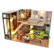 China Customized <b>DIY Wooden Miniature Dollhouse</b> Manufacturers ...