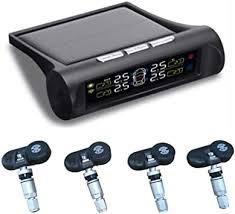 ZERTRAN <b>Smart Car TPMS Tyre</b> Pressure Monitoring System Solar ...