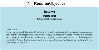 top tips on administrative assistant resume objective   resume titleadministrative assistant resume objective