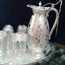 Sliver Delhi Jug Set, Rs 42640 /<b>1set</b>, New Akshaya Jewellers | ID ...