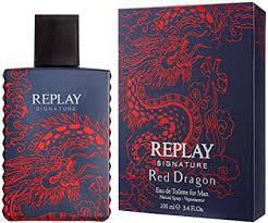 <b>Replay Signature Red</b> Dragon Man Eau De Toilette 30ml: Amazon ...