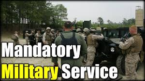 Mandatory Military Service  NO WAY  YouTube