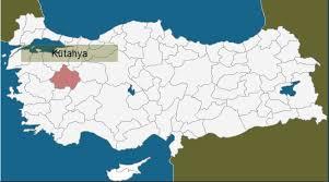 Image result for kütahya haritası