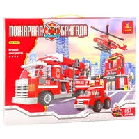 <b>Конструктор Ausini Пожарная бригада</b> 21901 — Конструкторы ...